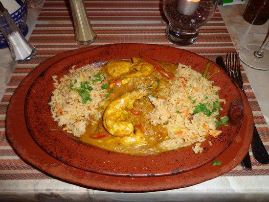 Restaurante Oasis: Chicken Curry