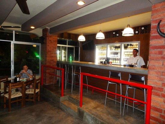 Serrano's Meat House: The bar