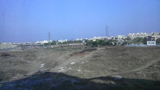 Hotel Ambience Executive : Wakad is full of construction so no view from my room