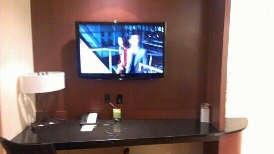 Courtyard Pittsburgh Airport Settlers Ridge: tv
