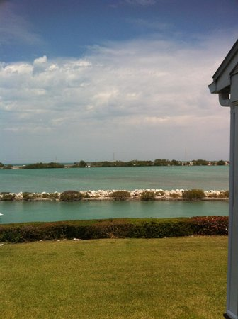 Hawks Cay Resort: View from our Sunset Villa