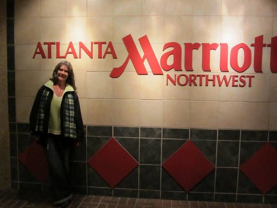 Atlanta Marriott Northwest at Galleria: Entrance