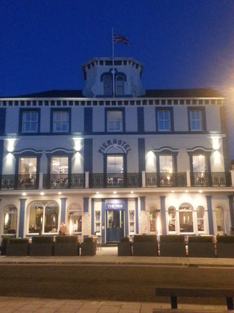 The Pier Hotel at Harwich