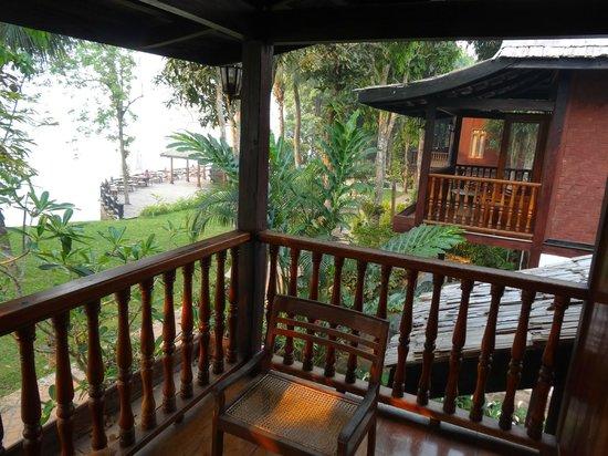 Chanthavinh Resort and Spa: Balcon de rêve