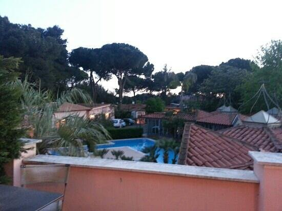 Mancini Park Hotel: vista dal balcone
