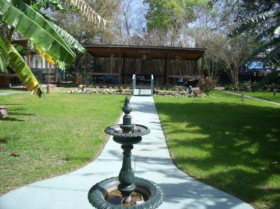 Hotel Storyville: Garden