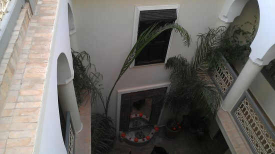 Dar Andamaure: Interior courtyard