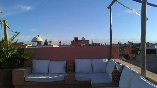 Dar Andamaure: Terrace view