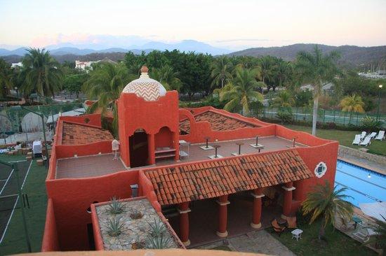 Xquenda Huatulco Spa: vista de Xquenda
