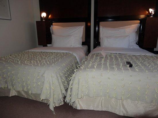 Maximilian Hotel: Our twin room