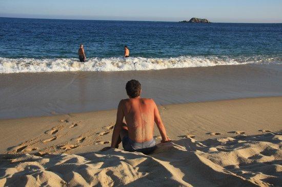 Xquenda Huatulco Spa: playa Chahue