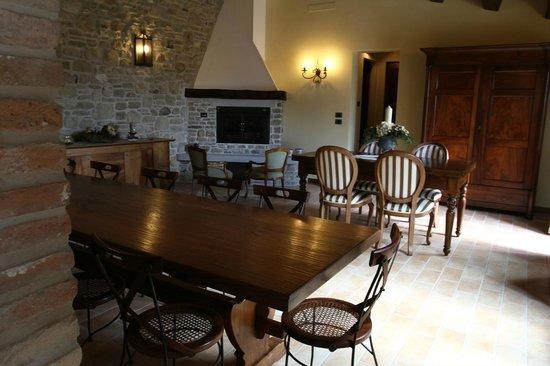 Corte del Sasso Room and Breakfast: Il Salone