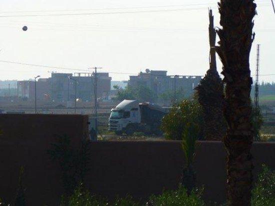 Selman Marrakech : Suite Jr view from terrace
