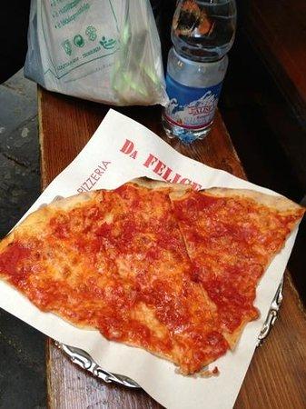 Pizzeria da Felice : great pizza!