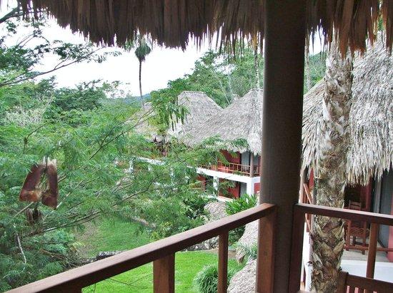 Camino Real Tikal: from our balcony