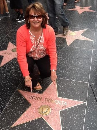 Amazing LA Tours: Found the star i wanted amongst loads