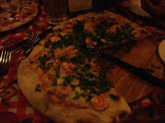 Restaurante y Pizzeria La Terraza: Pizza Gambereti