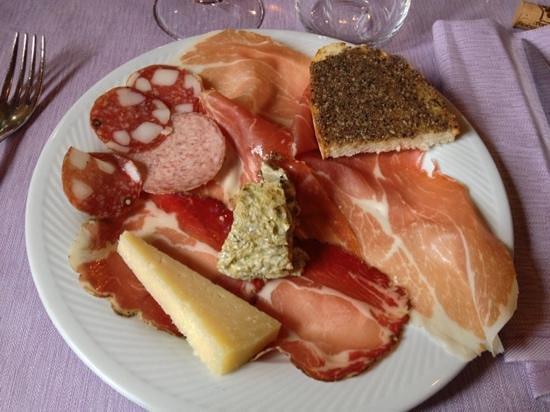 Preci, Italia: Antipasto