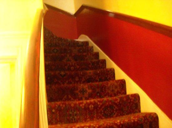 Rhodes Hotel: scalinata