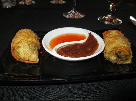 Lafayette Inn & Restaurant: southern eggrolls