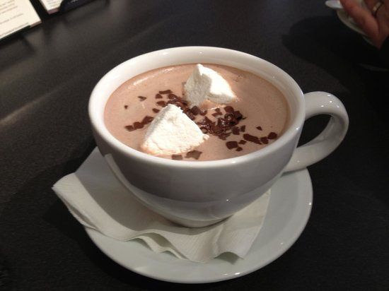 Aztec Hot Chocolate with hand-made marshmallows - Picture of Lake ...