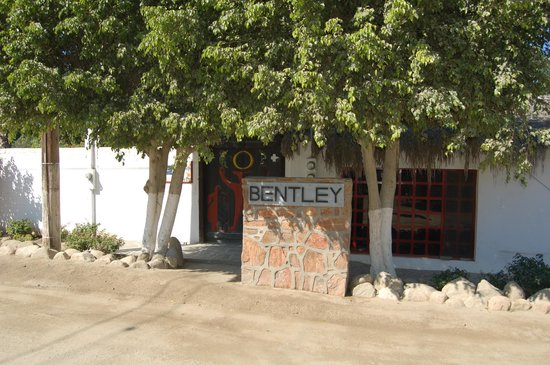 Casa Bentley Entrance, Todos Santos, Baja Sur