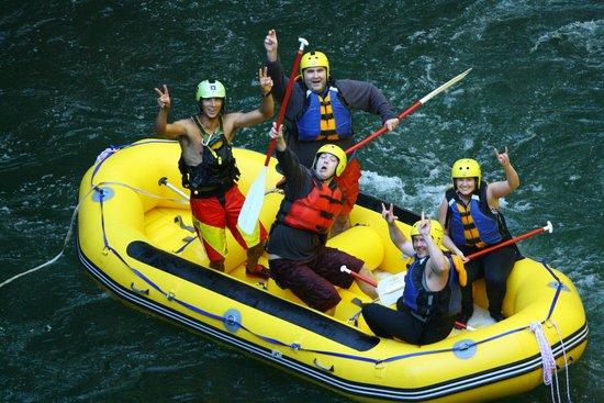 Rotorua Rafting: yeeaaaahhh