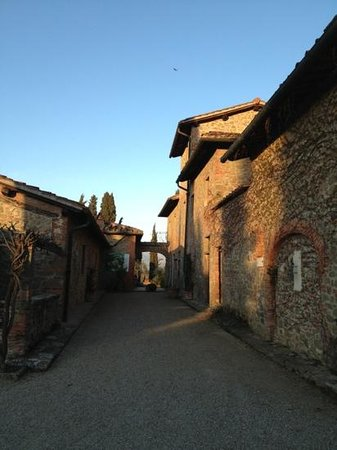 Villa Barberino: arrivo....