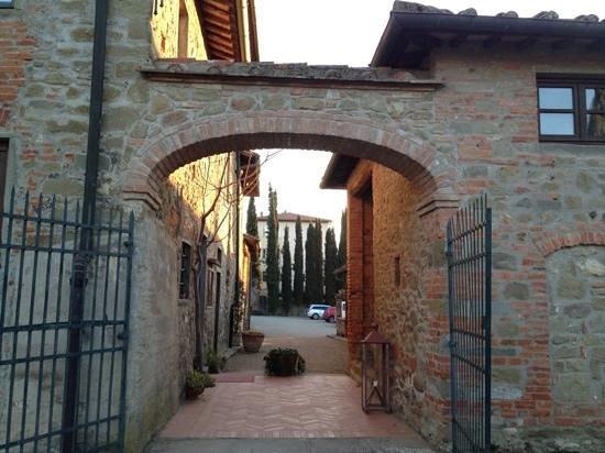 Villa Barberino: partenza...