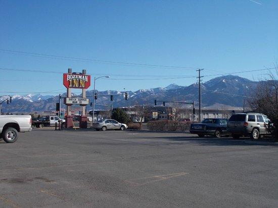 بوزيمان إن: Views of the Rockies from Bozeman Inn