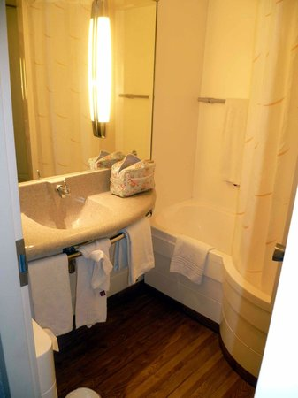Novotel Brugge Centrum: Bathroom