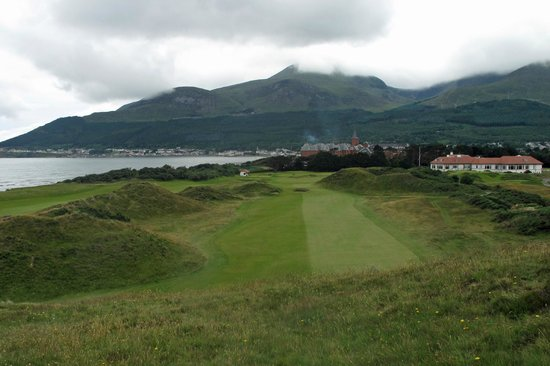 Hole number 9 picture of royal county down golf club for Royal county down