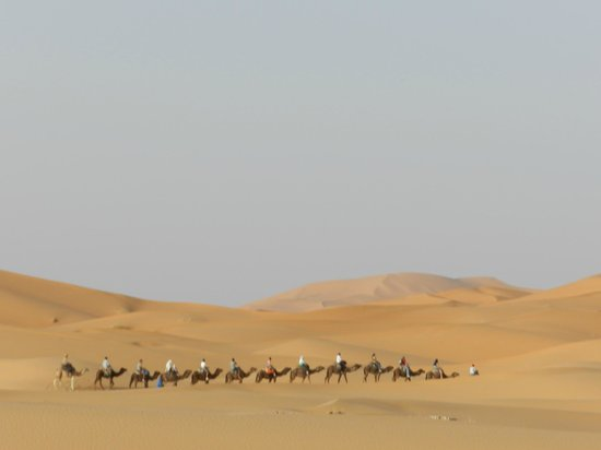 Kasbah Azalay Merzouga: Dune en fin de journée