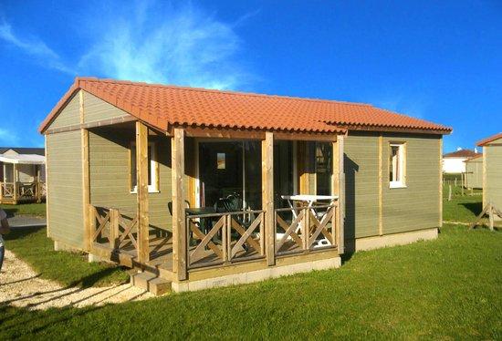 Camping Lot et Bastides : chalet 4 places