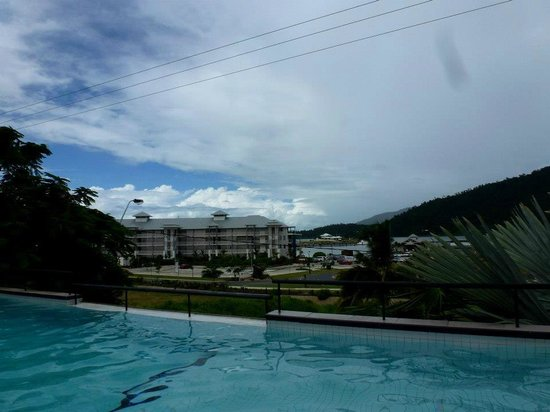 at Waterfront Whitsunday Retreat: From from pool deck