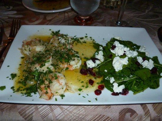 Casa Teresa Ristorante Italiano : Shrimp - yummy!