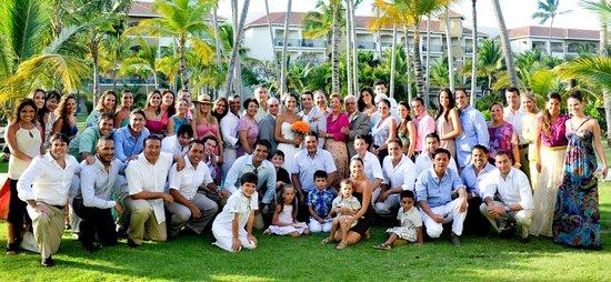 Now Larimar Punta Cana: Todo el grupo que viajó desde Santa Cruz, Bolivia