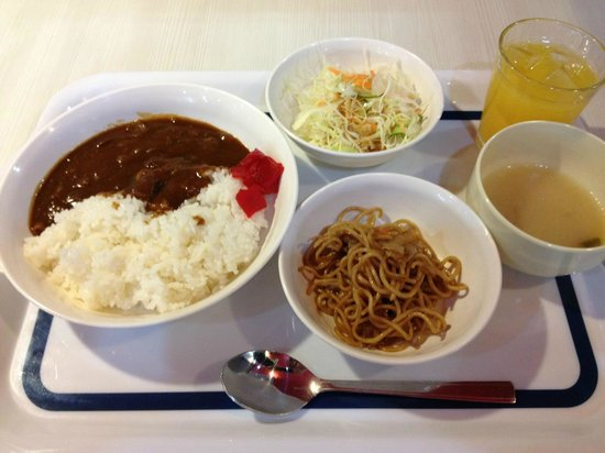 Hotel Select Inn Kurume: 朝食 カレーバイキング
