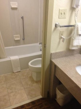 Red Roof Inn Charlottesville: damp wet bad smell room & carpet!!!