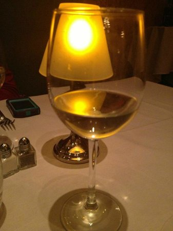 Luce Restaurant & Bar : Try the Riesling. So yummy and not