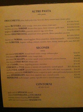 Luce Restaurant & Bar : A bit pricey but so worth it.
