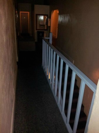Friendship Hotel: creepy hallways