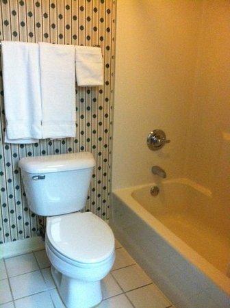 Country Hearth Inn - Shelbyville: Restroom/shower