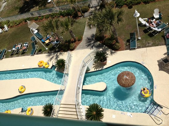 Hampton Inn & Suites Myrtle Beach/Oceanfront: One of nine pools