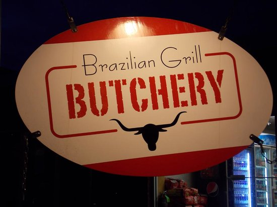 Brazilian Grill : Signage