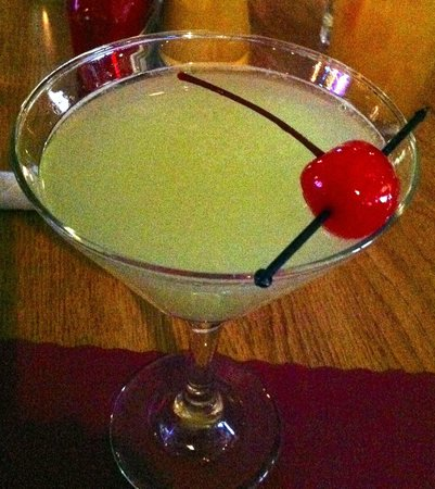 Laughing Trout: Sour Apple Martini ~ YUM YUM