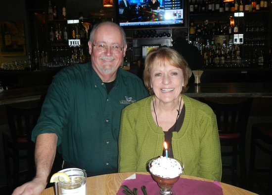 Laughing Trout: Birthday Lady with Great Service with a Smile, John