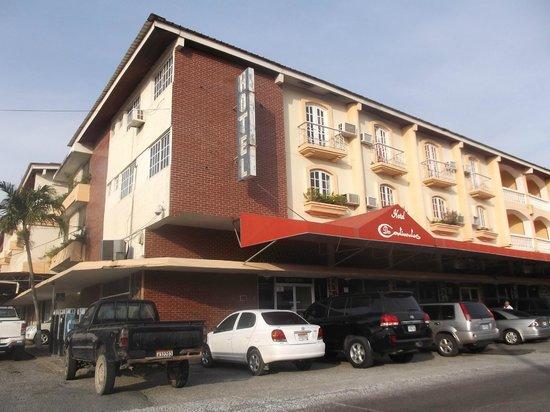 Hotel Dos Continentes : Photo prise le 9 avil 2013.