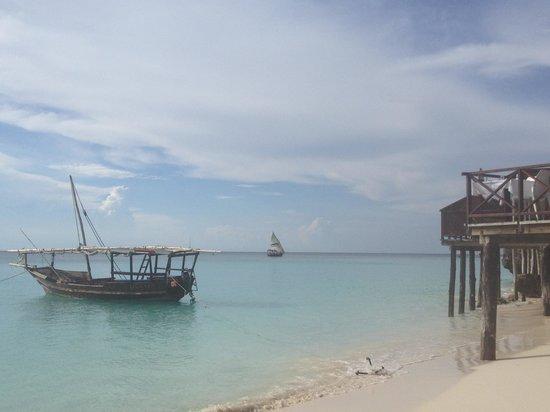 The Z Hotel Zanzibar: view from beach