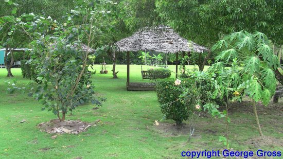 Kosrae Nautilus Resort: Grounds